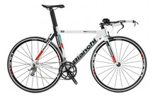 Bianchi Crono Triathlon Racefiets Restanten Alu Tiagra 10sp wit